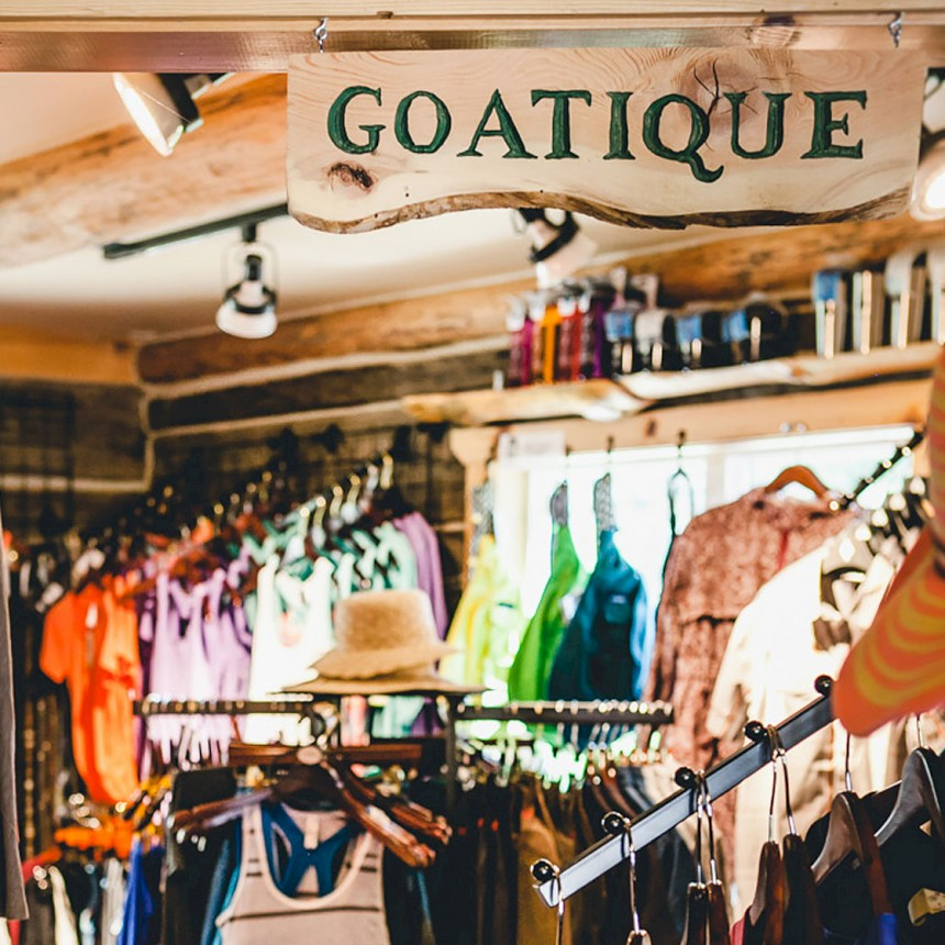 The Goatique is Summer Chic