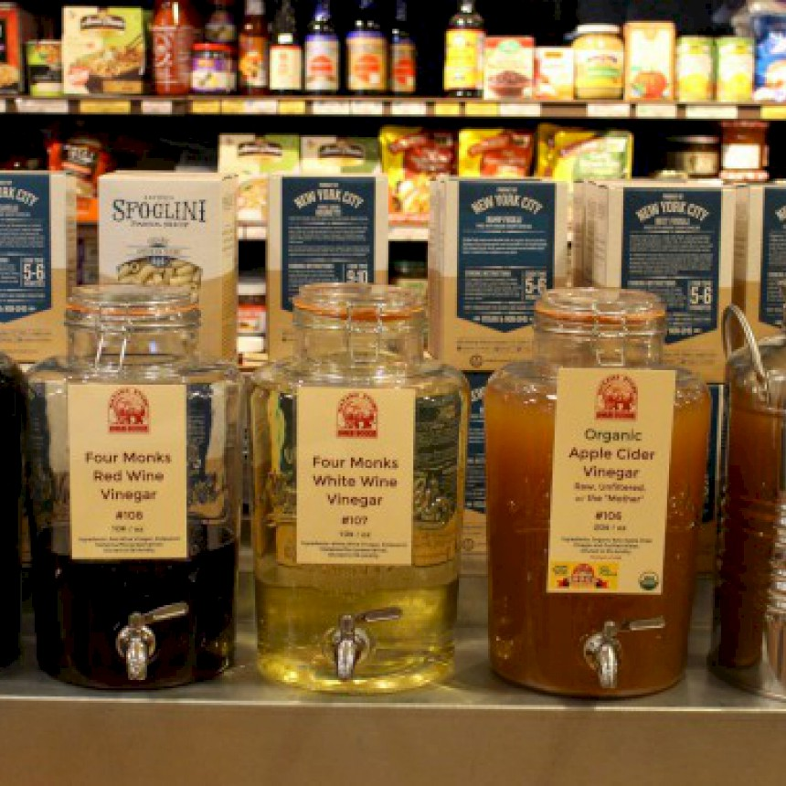 Bulk Vinegars and Oils